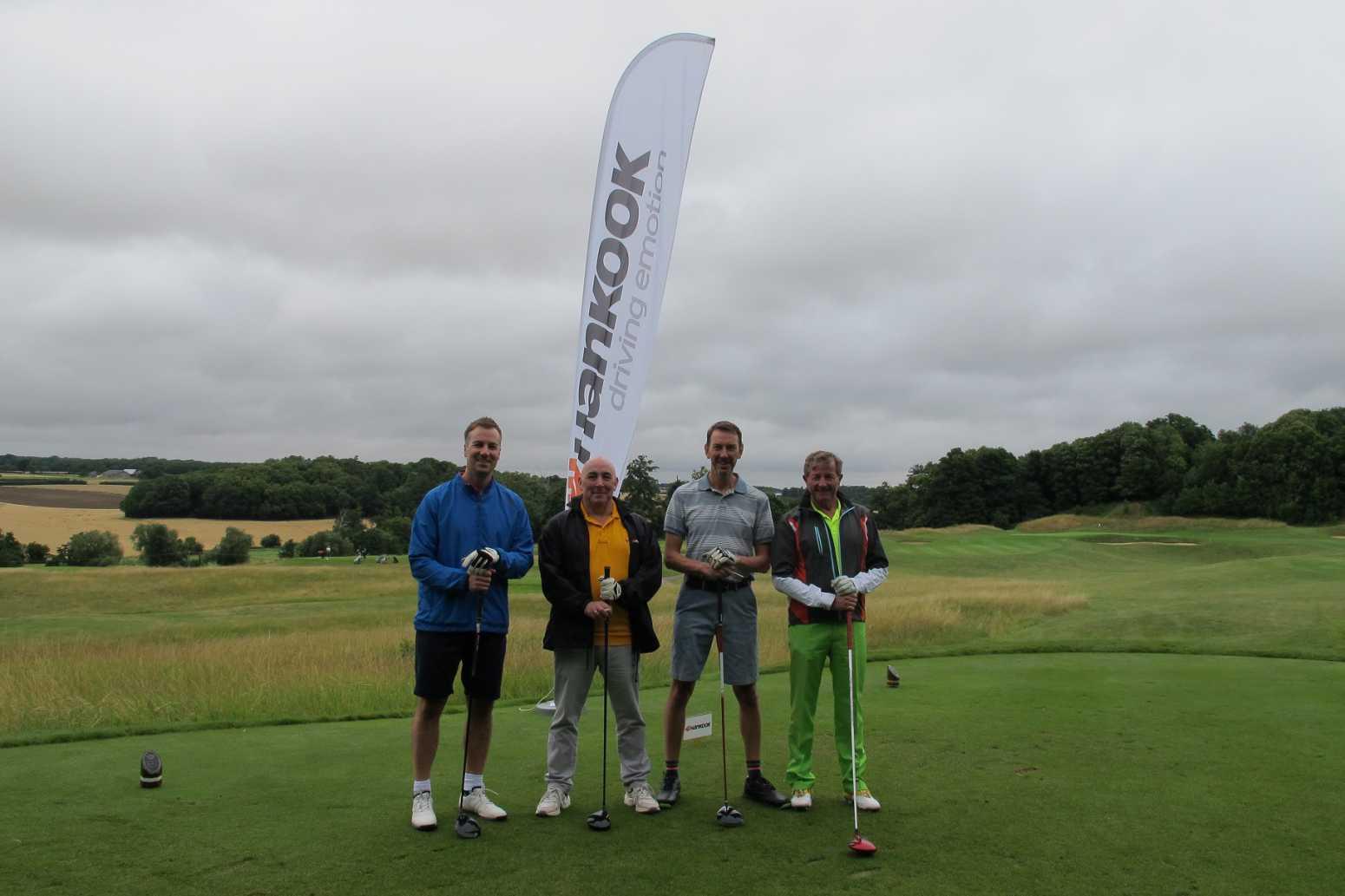 Watling Tyre's Roger Flury at the Hankook Golf Classic