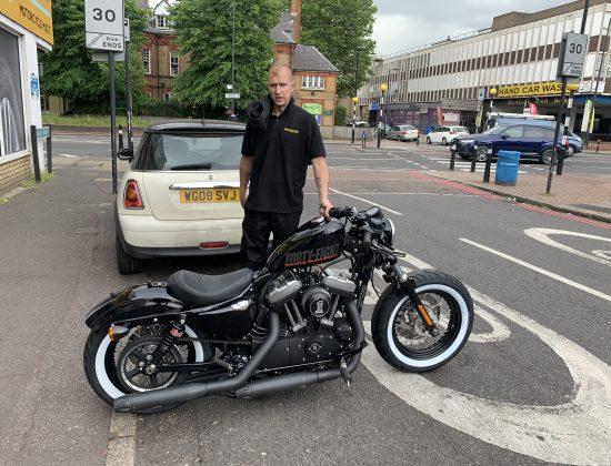 Harley Davidson Forty Eight 19