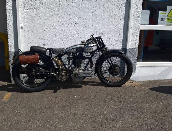 1929 Norton Motorcycle 9