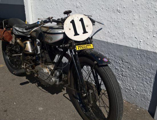 1929 Norton Motorcycle 5