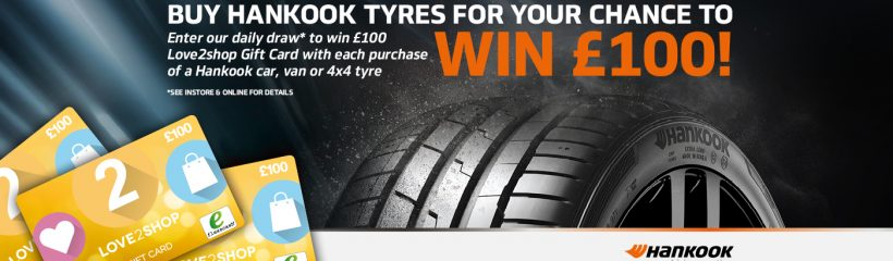Promotion Banner of Hankook